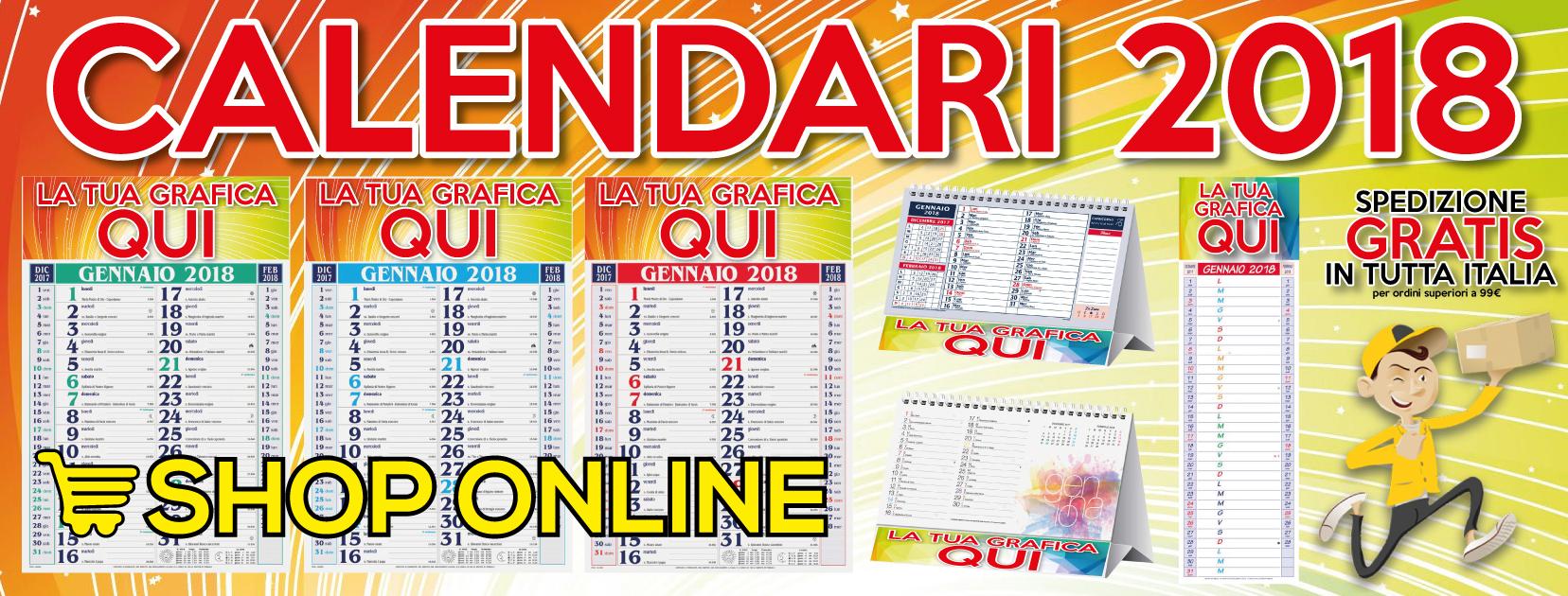 Shop Online Calendari
